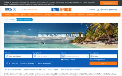 Cheap Holidays to Dominican Republic 2017/2018 | Travel Republic