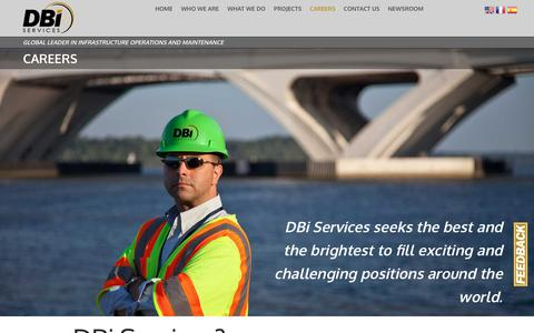 Screenshot of Jobs Page dbiservices.com - Careers | DBi Services - captured Oct. 7, 2018