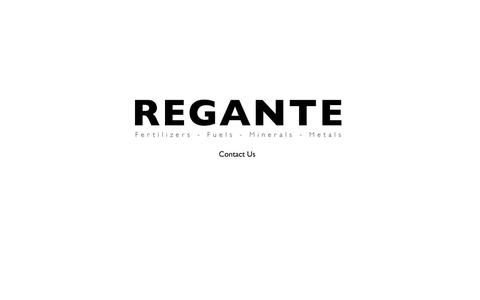 Screenshot of Home Page regante.com - Regante LLC - The direct supply commodities company - Providing industrial requirements with a comprehensive range of fertilizers, fuels, minerals, metals and sugar - captured Oct. 1, 2014