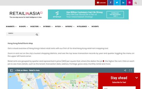 Screenshot of Maps & Directions Page retailinasia.com - RETAIL RENTS MAP - Retail in Asia - captured Dec. 20, 2018