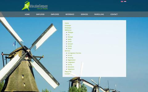 Screenshot of Site Map Page therelocationcompany.nl - Sitemap - captured Oct. 29, 2014