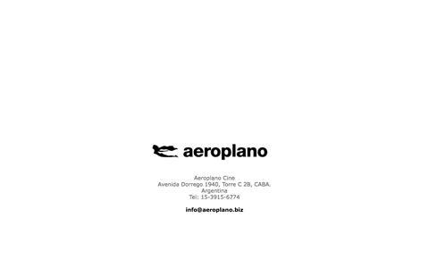 Screenshot of Home Page aeroplano.biz - aeroplano.biz - captured Oct. 7, 2017