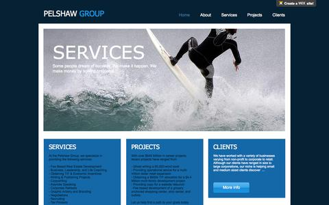 Screenshot of Contact Page pelshawgroup.com - pelshawgroup - captured Sept. 21, 2015