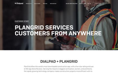PlanGrid Delivers Anywhere Service | Dialpad