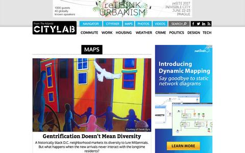 Screenshot of Maps & Directions Page citylab.com - Maps - CityLab - captured May 17, 2017