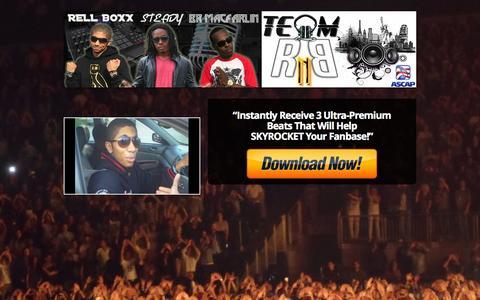 Screenshot of Signup Page teamrnbmusic.com - Free Ultra-Premium Beat CD From Team RnB! — Team RnB Music Production LLC | Buy Exclusive R&B and Rap Beats | Premium Beat Subscription | Music Artist Membership - captured Nov. 4, 2014