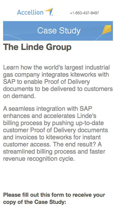 The Linde Group, Case Study from Accellion
