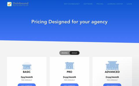 DoInbound Pricing & Packages | Grow Your Agency