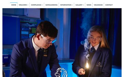 Screenshot of Home Page cansfield.wigan.sch.uk - Cansfield | Developing Potential - Celebrating Success - captured Feb. 26, 2018