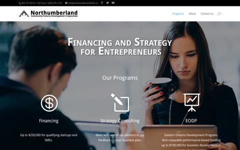 Screenshot of Home Page financingandstrategy.com - Financing and Strategy for Entrepreneurs | - captured Jan. 26, 2015