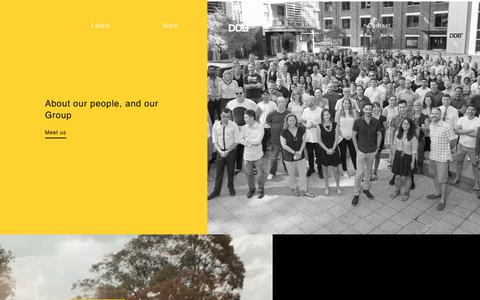 Screenshot of About Page ddb.com.au - About   DDB Sydney - captured Oct. 7, 2018