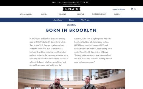 Born In Brooklyn | Greats