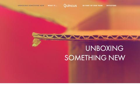 Screenshot of About Page quincus.com - Quincus - captured Oct. 29, 2014