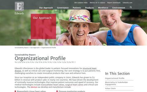 Edwards 2016 Sustainability Report   Organizational Profile
