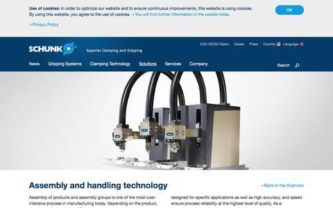 Assembly and handling technology