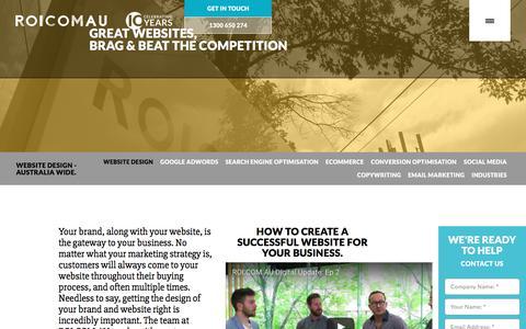 Web Design Agency Melbourne | ROI.COM.AU
