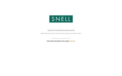 Screenshot of Home Page snellmedical.com - Welcome to Snell Medical - captured Oct. 3, 2014