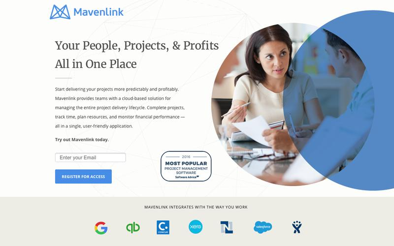 Resource Planning & Project Management Software | Mavenlink