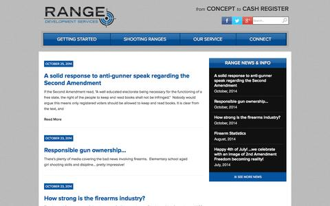 Screenshot of Press Page rangedevelopmentservices.com - News - Range Development Services Range Development Services - captured Oct. 26, 2014