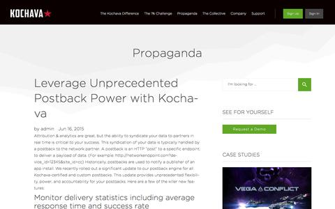 Leverage Unprecedented Postback Power with Kochava