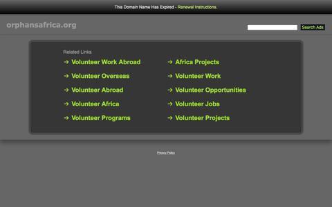Orphansafrica.org