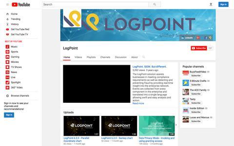 LogPoint  - YouTube