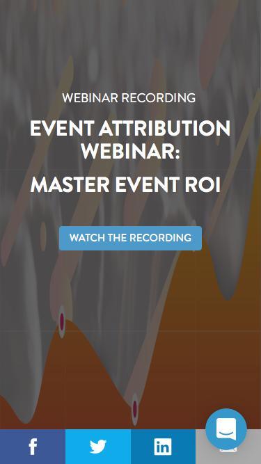 Master Event ROI Webinar | Bizzabo