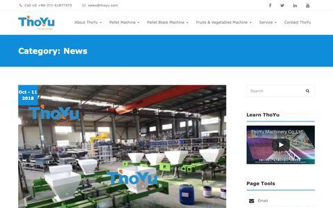 Screenshot of Press Page thoyu.com - ThoYu News And Events - ThoYu ( To You For You ) - captured Oct. 18, 2018