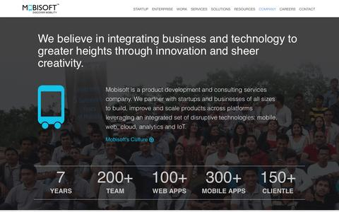 Mobisoft Infotech - Mobile, Cloud and web solution experts