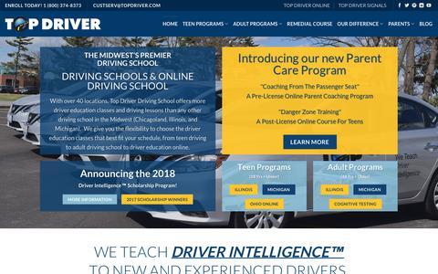 Driving Schools: Drivers Ed, Illinois, Michigan, Ohio, Online