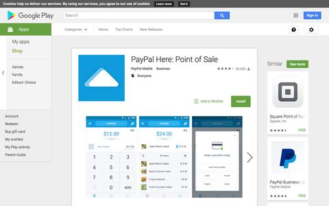 PayPal Here: Point of Sale - Android Apps on Google Play