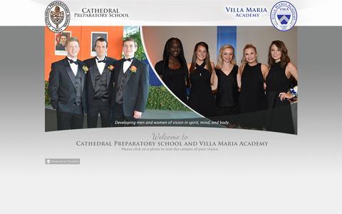 Screenshot of Home Page prep-villa.com - Prep-Villa.com - captured June 12, 2016
