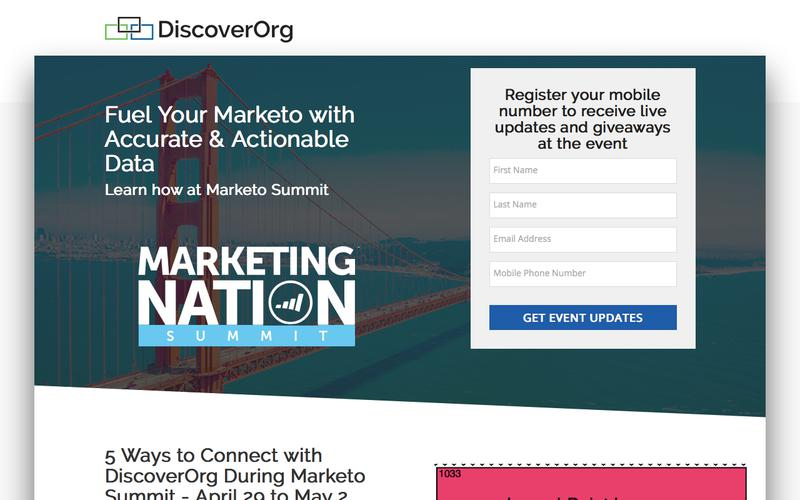 Marketing Nation Summit 2018 | DiscoverOrg
