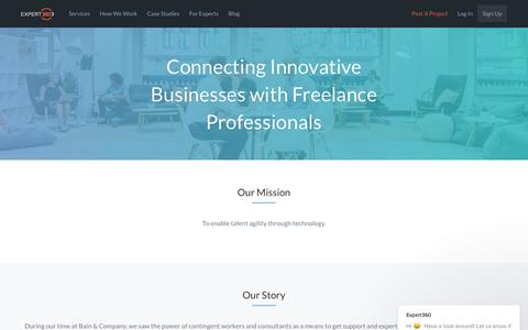 About Us - Expert360