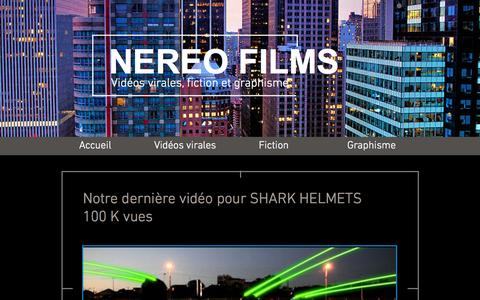 Screenshot of Press Page nereofilms.com - Nereo Films - captured July 3, 2015