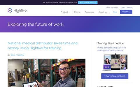 Exploring the future of work | Highfive Blog