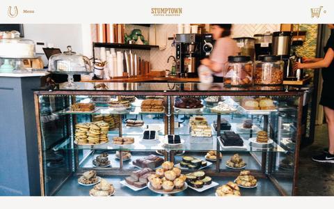 Screenshot of Blog stumptowncoffee.com - Meet the Maker: Ovenly Bakery  | Stumptown Coffee Roasters Blog - captured Jan. 1, 2016