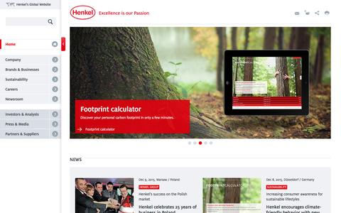 Home - Henkel AG & Co. KGaA