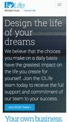 New Landing Page IDLife Corporate