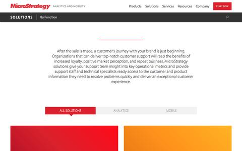Big Data Solutions for Customer Support   MicroStrategy