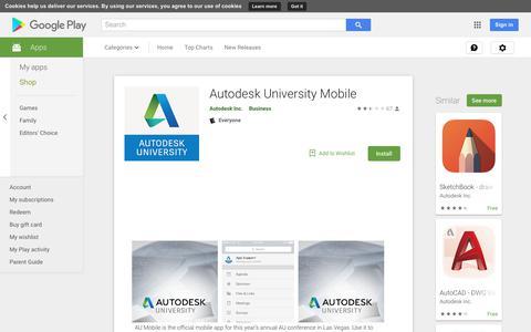 Autodesk University Mobile - Apps on Google Play