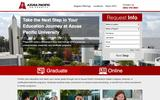New Landing Page Azusa Pacific University