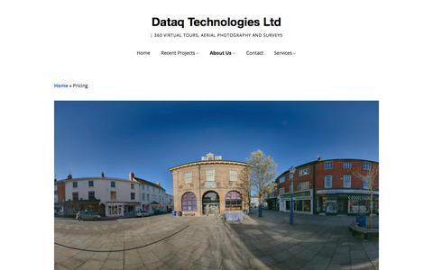 Screenshot of Pricing Page dataqtechnologies.co.uk - Dataq Technologies Ltd | Pricing - captured Aug. 5, 2018