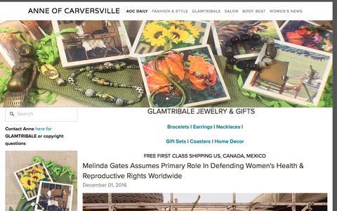 Screenshot of Team Page anneofcarversville.com - AOC Daily — Anne of Carversville - captured Dec. 5, 2016