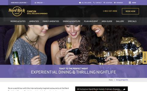 Nightlife | Hard Rock Hotel Cancun