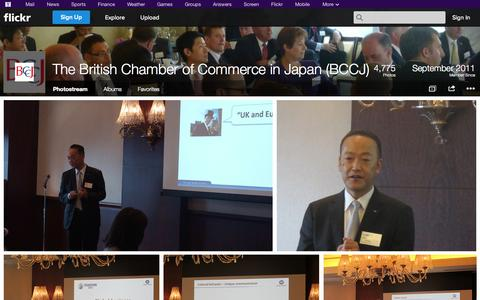 Screenshot of Flickr Page flickr.com - Flickr: The British Chamber of Commerce in Japan (BCCJ)'s Photostream - captured Oct. 23, 2014