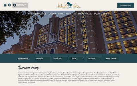 Screenshot of Privacy Page islandvista.com - Island Vista Myrtle Beach SC | Myrtle Beach Hotel Suites - captured Sept. 20, 2018