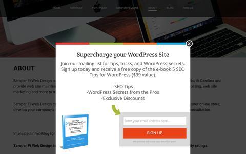 Cary Web Design | WordPress Developer