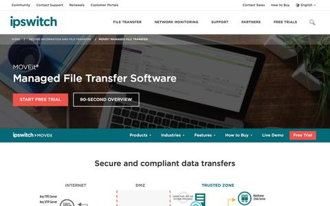 Managed File Transfer - Managed File Transfer Software - MOVEit - Ipswitch