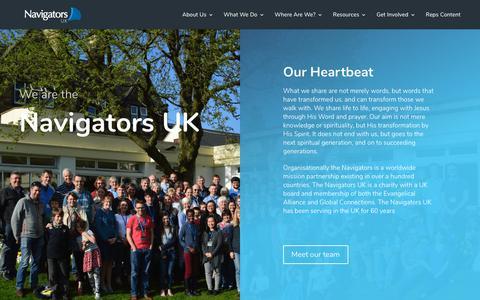 Screenshot of About Page navigators.co.uk - About Us - Navigators UK - captured Oct. 18, 2018
